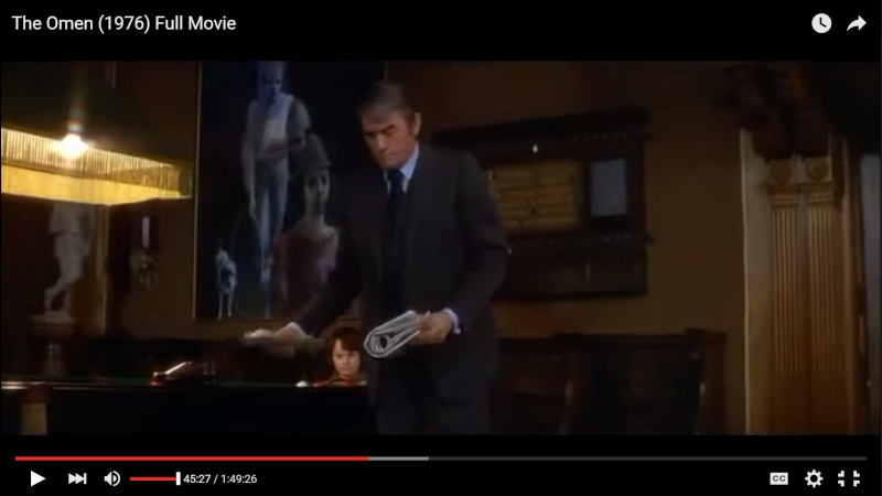 What is this painting in the film The Omen? Omen-p11