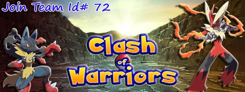 Team Clash of Warriors [UnovaRPG]