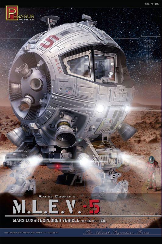MARS LUNAR EXPLORER VEHICLE  181pe010