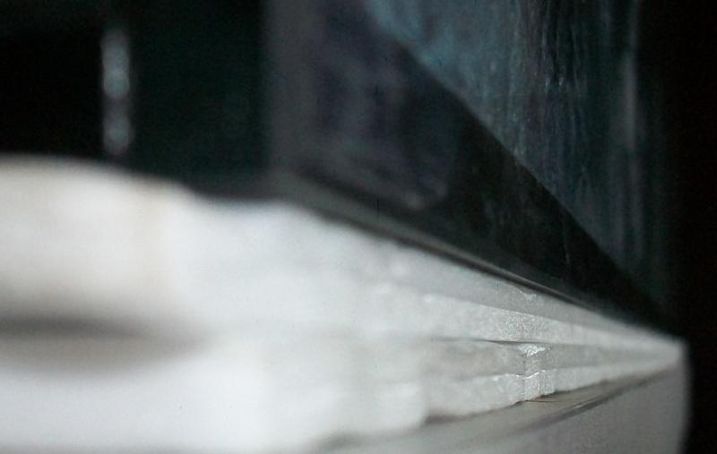 Support de l'aquarium en polystyrène un peu petit: Danger? 102_8511