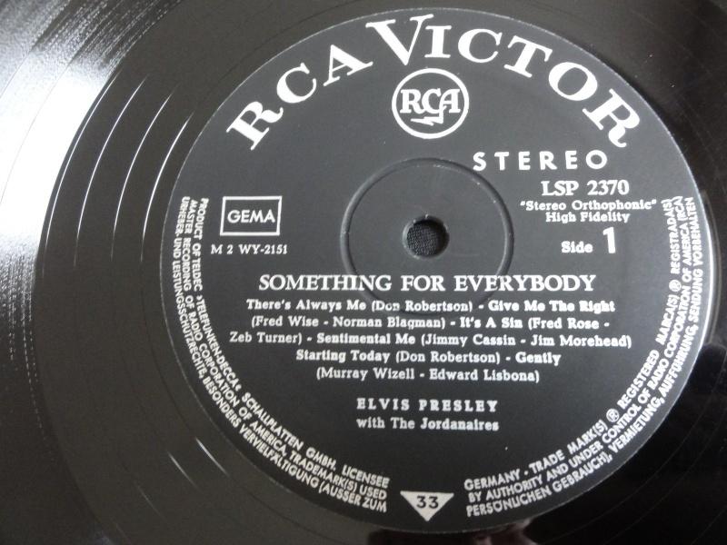 RCA LP-Label-Spiegel der Bundesrepublik Deutschland Elvis110