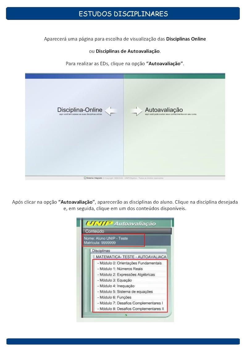 Manual de Estudos Disciplinares O_888713