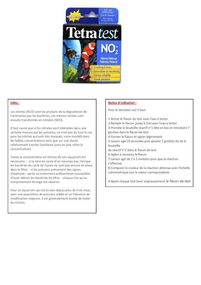 Cherche notice Tetratest NO2- Tetrat12