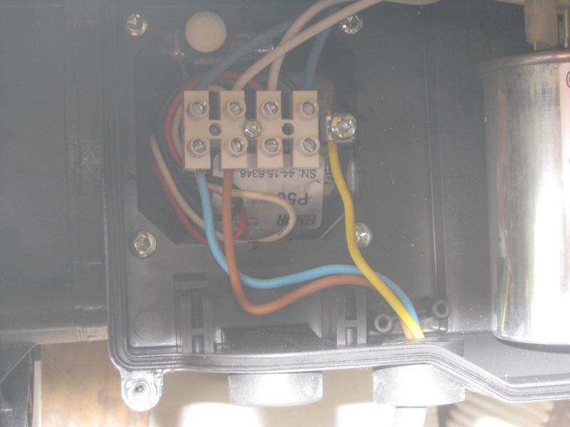 raccordement electique pompe Img_5510