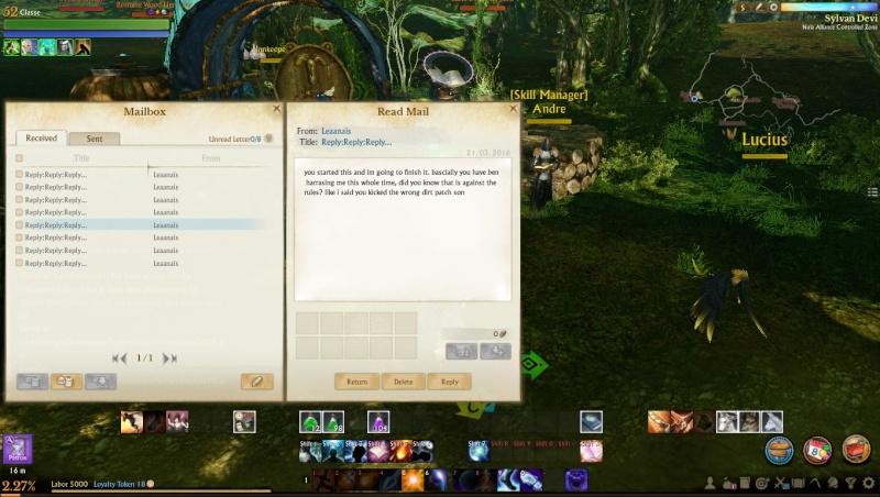 Arena hacker threats pretty funny Screen14