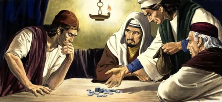 ROZJÍMAJME - Evanjelium podľa Matúša − Mt 26, 14-25 12801210