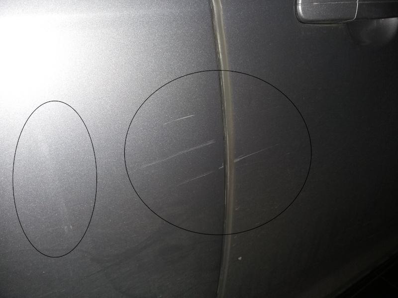 La mia prima correzione - rimozione scratch ford focus mk3 Graffi10