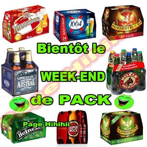 c'est le week end de pack!!!  bonne fête à tout le monde  10981310