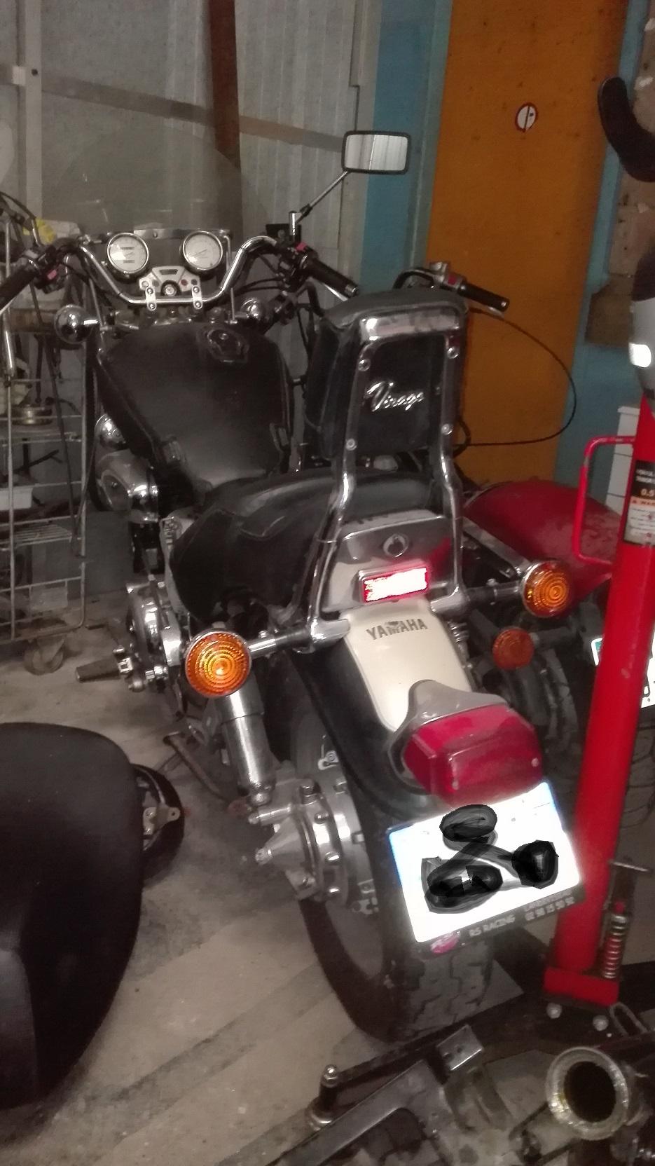 Yamaha Virago 1100 XV Img_2060