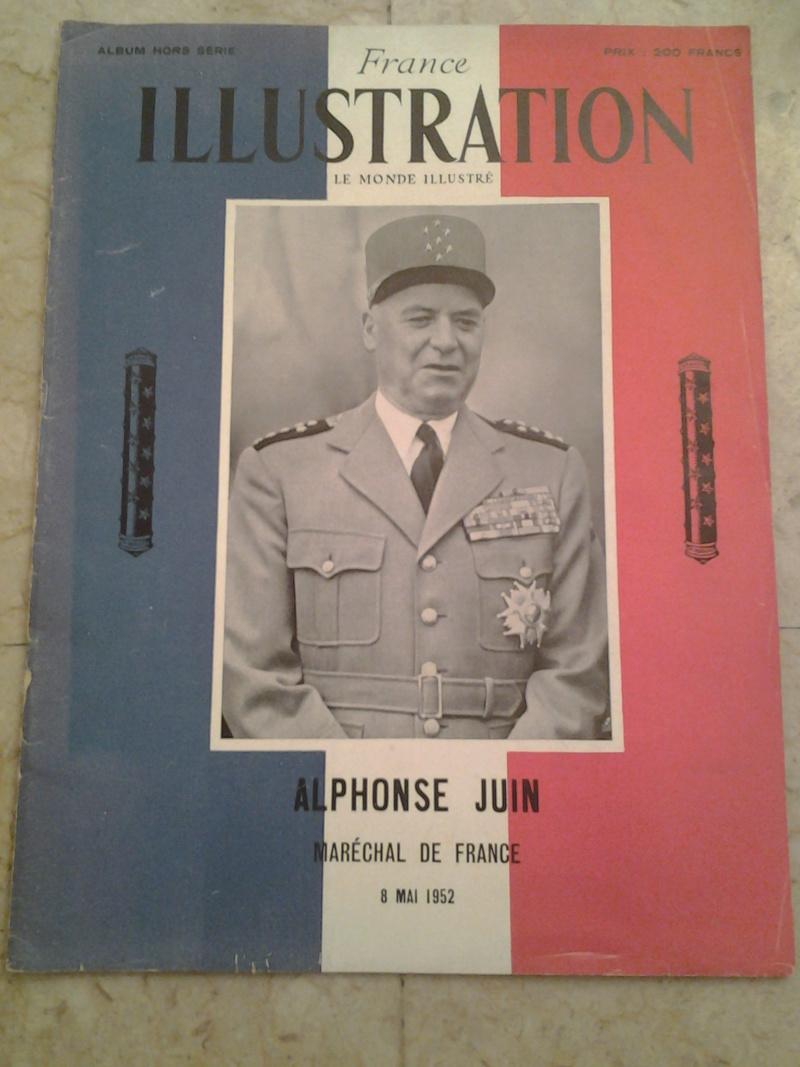3 revues Maréchal JUIN et CEF d'Italie 1943 1944 20170112