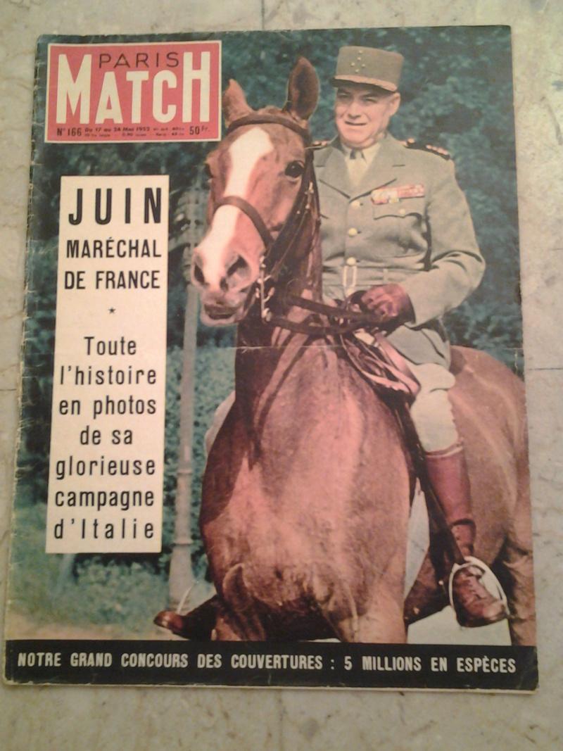 3 revues Maréchal JUIN et CEF d'Italie 1943 1944 20170113