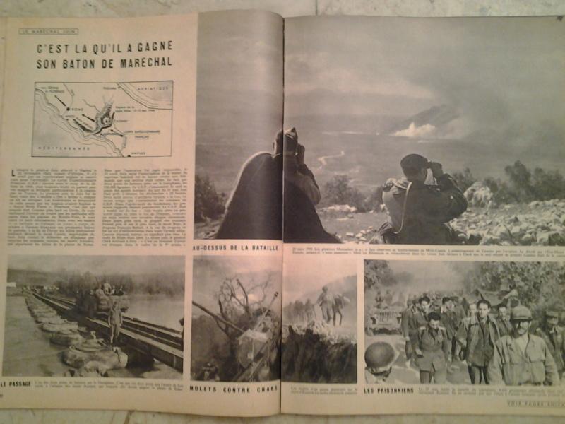 3 revues Maréchal JUIN et CEF d'Italie 1943 1944 20170114