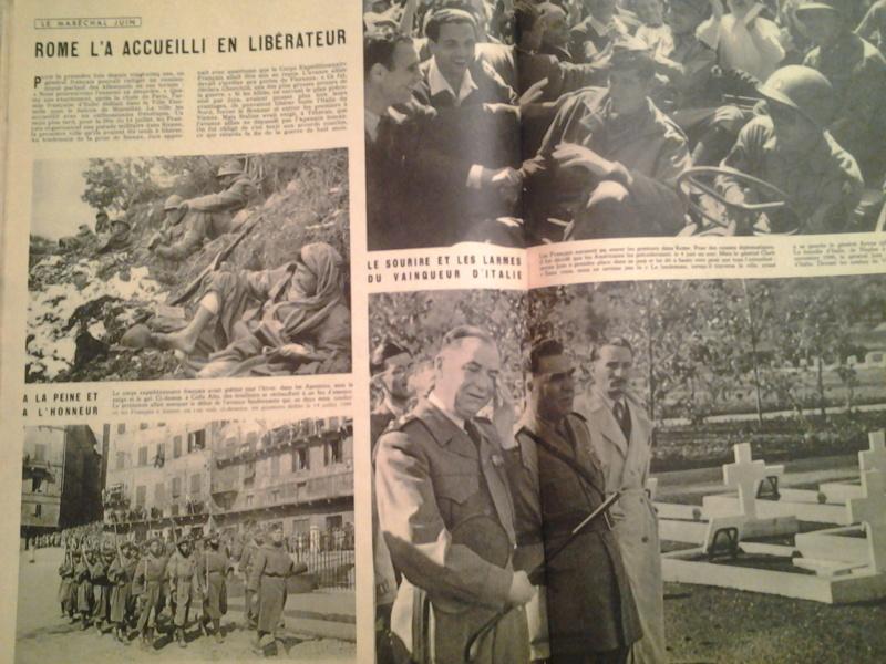 3 revues Maréchal JUIN et CEF d'Italie 1943 1944 20170115