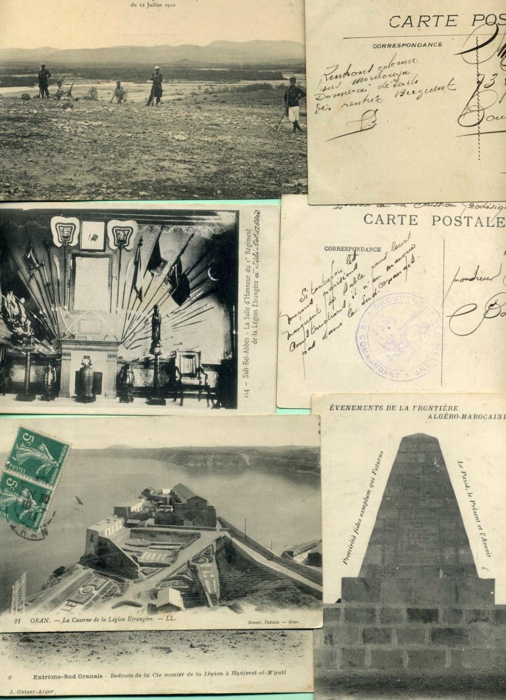 correspondance d'un tirailleur algérien au Maroc 1911 Img88510