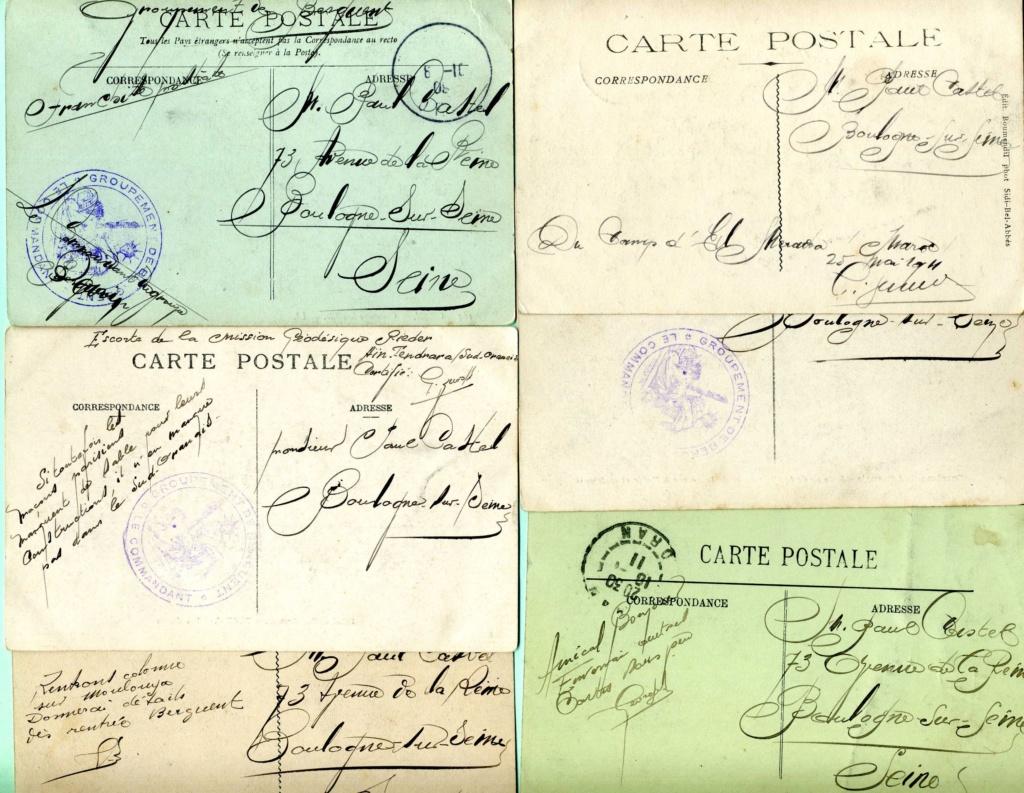 correspondance d'un tirailleur algérien au Maroc 1911 Img89110