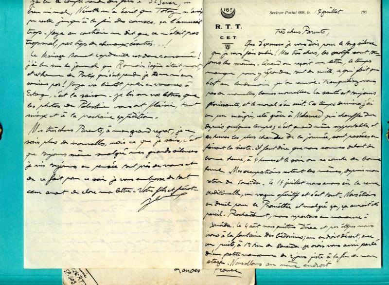 correspondance d'un sous-officier du 16è Régiment de Tirailleurs Tunisiens - Levant années 1930 Img93010