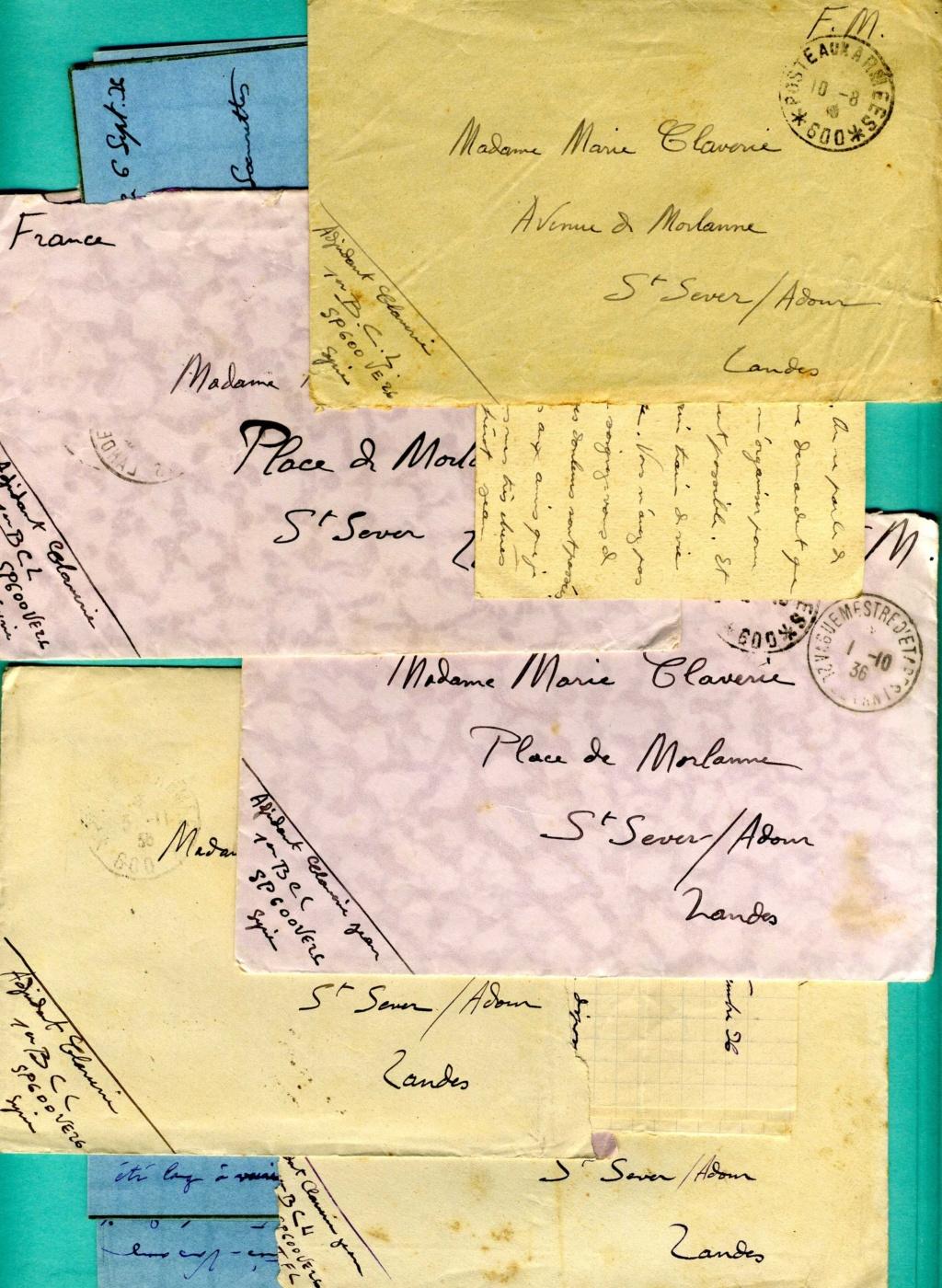 correspondance d'un adjudant du 1er Bataillon de Chasseurs Libanais - Levant années 1930 Img93710