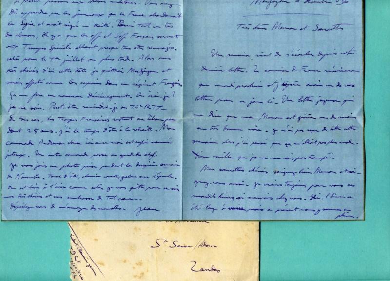 correspondance d'un adjudant du 1er Bataillon de Chasseurs Libanais - Levant années 1930 Img94110