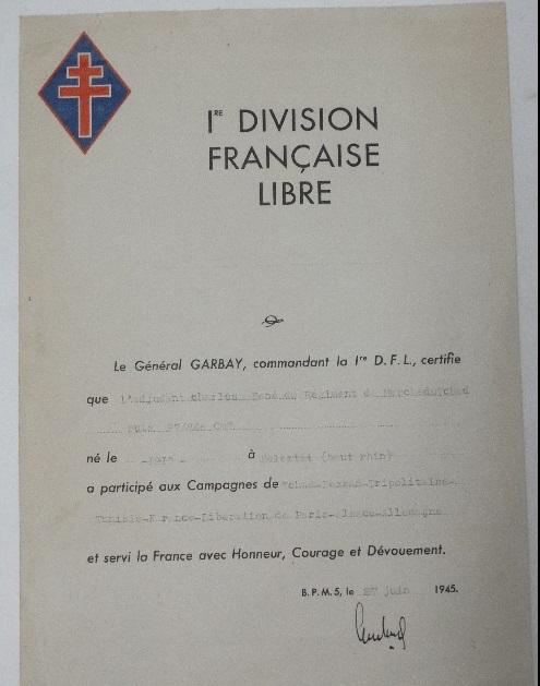 Souvenirs d'Yves de Daruvar  RMT Compagnon de la Libération Possib11