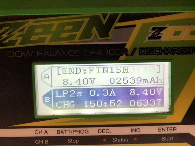 Retour sur les batteries lipo ZEEE 95b0f110