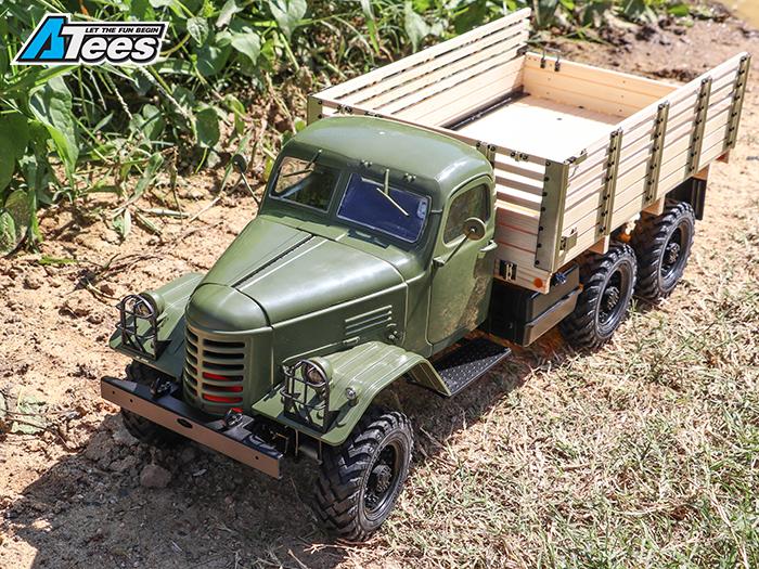 Camion King Kong 6x6 1/12 CA30 Tractor : nouveauté 2018 Img_1326