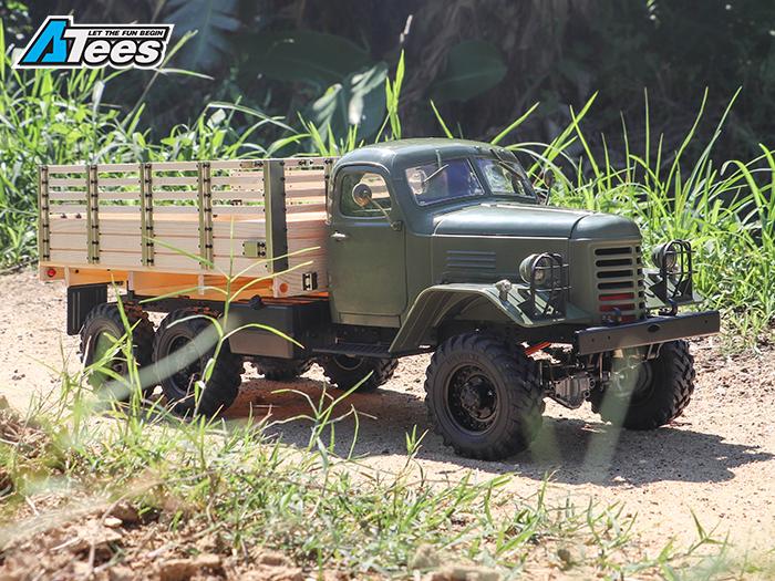 Camion King Kong 6x6 1/12 CA30 Tractor : nouveauté 2018 Img_1327
