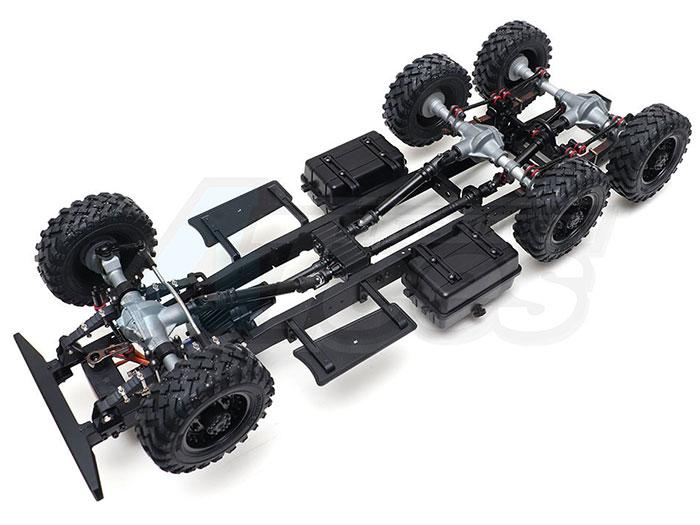 Conversion axial scx10/scx10 2 ou wraith en 6x6 Img_1431