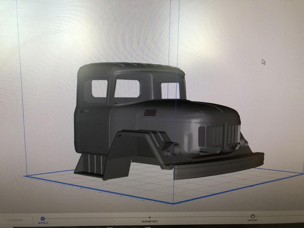 Camion Zil 131 6x6 impression 3D avec balancier totalement fait maison Img_5911