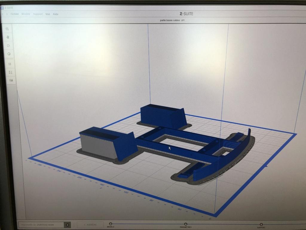 Camion Zil 131 6x6 impression 3D avec balancier totalement fait maison Img_5912