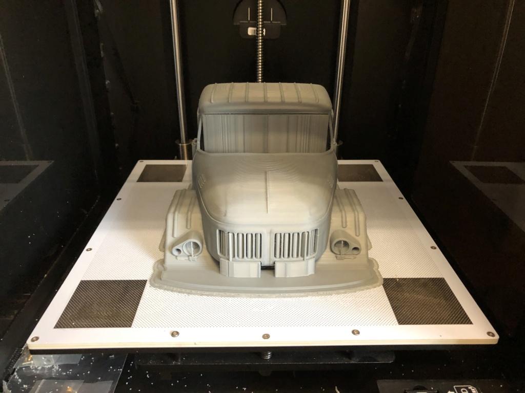 Camion Zil 131 6x6 impression 3D avec balancier totalement fait maison Img_5914