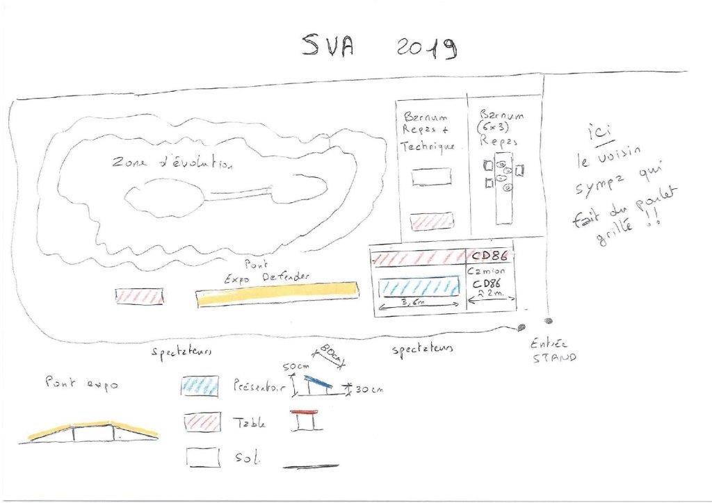 Salon du Véhicule d'Aventure SVA 2019 : 19 au 21 avril Corcoué sur Logne (44) - Page 8 Plan_s10