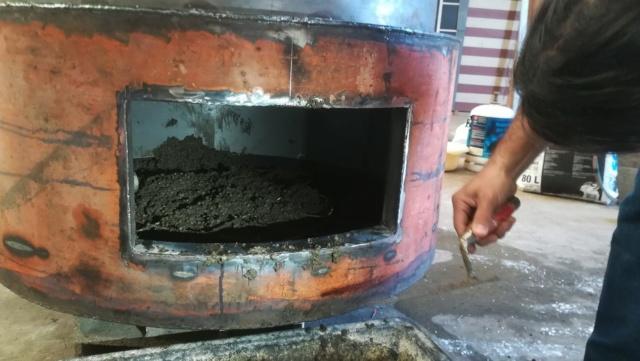 Un four à pizza dans une ancienne cuve à mazout !!? Img_2016