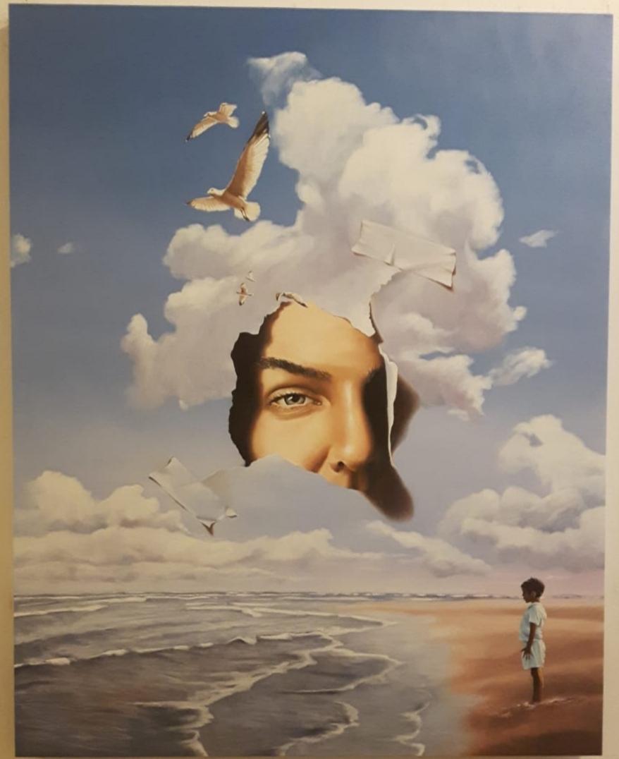 Maurizio Monti; video creazione di un'opera d'arte 910
