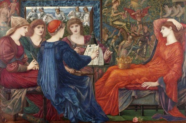 Tate Britain a Londra. La mostra dell'artista preraffaellita Edward Burne-Jones (1833-1898). Le immagini Edward12