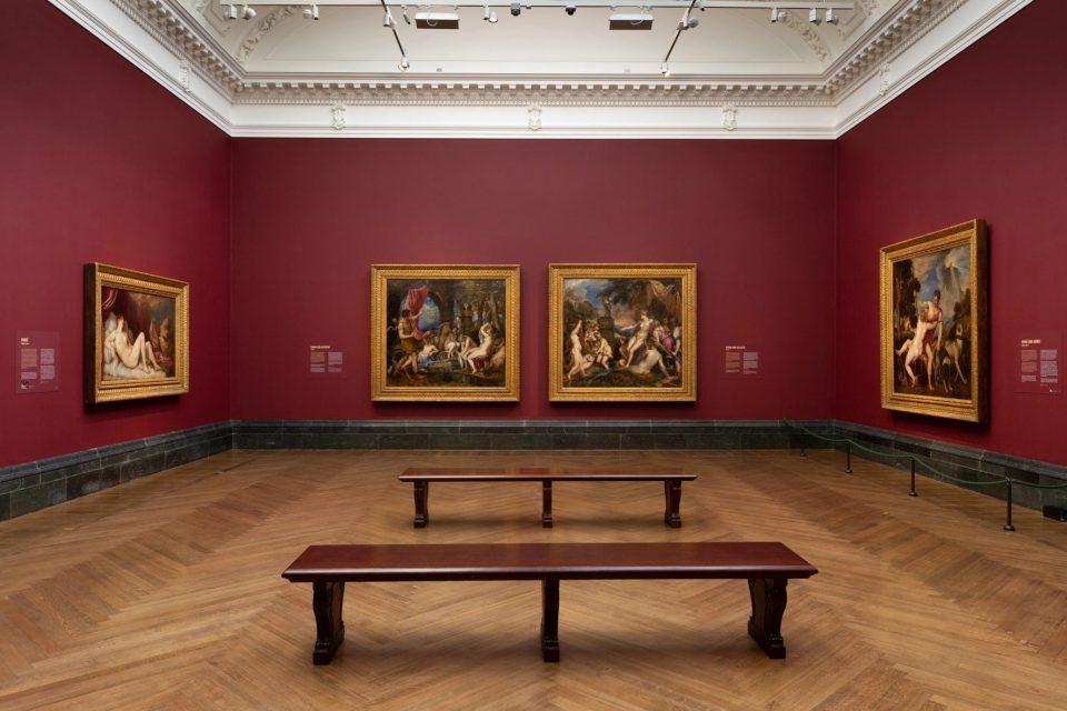 """Tiziano Vecellio, le sue 6 poesie in una sola mostra.  """"Tiziano: Love, Desire, Death."""" Fad27110"""