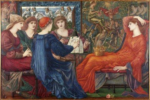 Tate Britain a Londra. La mostra dell'artista preraffaellita Edward Burne-Jones (1833-1898). Le immagini Id_09610