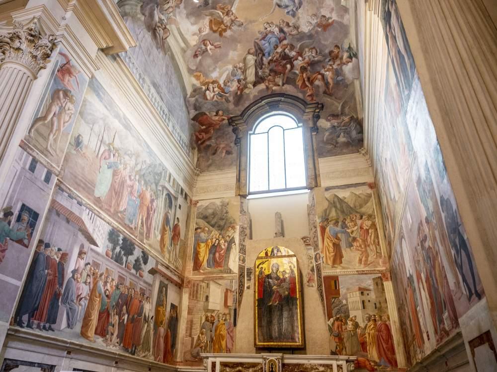 Cappella Brancacci Firenze; 30 anni dopo l'ultimo restauro, parte il monitoraggio per un nuovo intervento di manutenzione Img20215