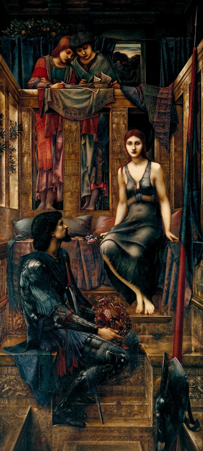 Tate Britain a Londra. La mostra dell'artista preraffaellita Edward Burne-Jones (1833-1898). Le immagini King_c10