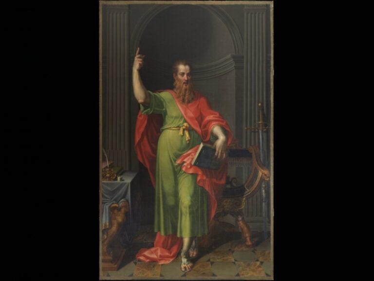 Un grande dipinto raffigurante San Paolo entra a far parte della collezione delle Gallerie degli Uffizi. Acquistato il perduto San Paolo della chiesa dell'Ultima Cena di Leonardo, opera di Pellegrino Tibaldi   San-pa10