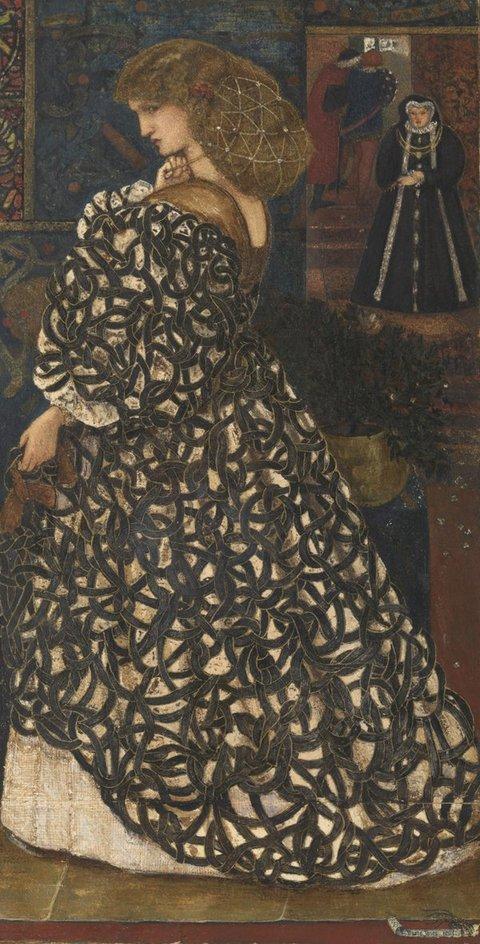 Tate Britain a Londra. La mostra dell'artista preraffaellita Edward Burne-Jones (1833-1898). Le immagini Sidoni10