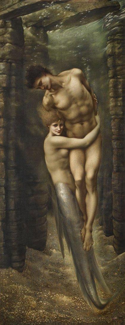 Tate Britain a Londra. La mostra dell'artista preraffaellita Edward Burne-Jones (1833-1898). Le immagini The_de10