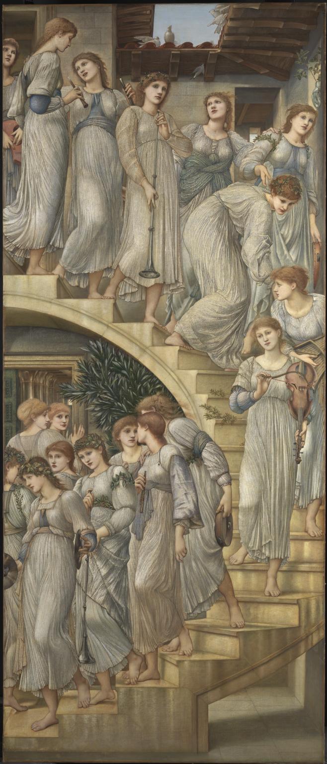 Tate Britain a Londra. La mostra dell'artista preraffaellita Edward Burne-Jones (1833-1898). Le immagini The_go10