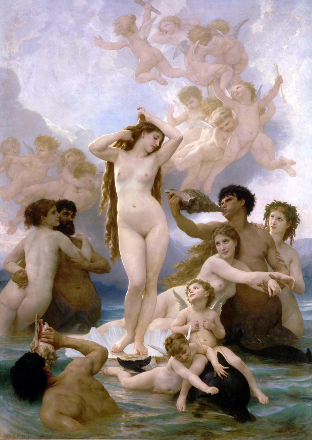 William-Adolphe Bouguereau (La Rochelle, 30 novembre 1825 – La Rochelle, 19 agosto 1905)  Willia11