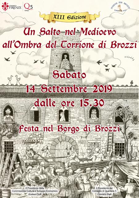Festa Medievale di Brozzi - XIII edizione - Sabato 14 settembre 2019 Manife12