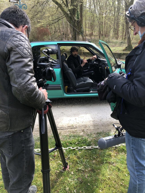 Reportage 205 GTI Griffe sur C8, samedi 10 avril 11h Img_8410