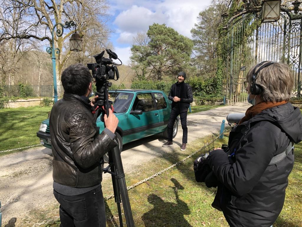 Reportage 205 GTI Griffe sur C8, samedi 10 avril 11h Img_8411