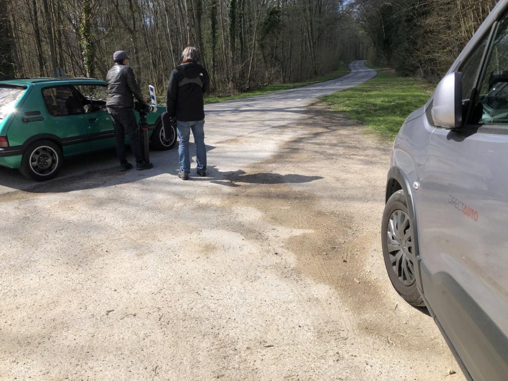 Reportage 205 GTI Griffe sur C8, samedi 10 avril 11h Img_8516
