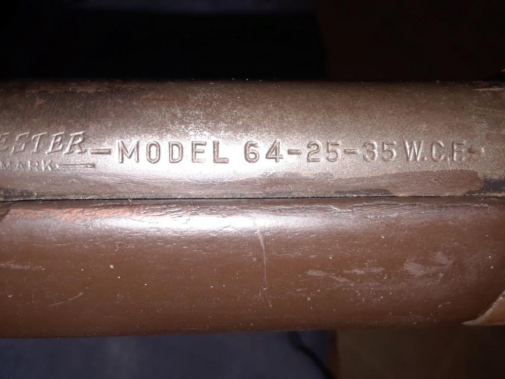Winchester modèle 64  calibre 25-35 win. 20190427