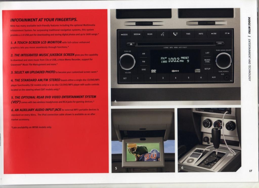 Auto radio sur dodge nitro 2.7 L Radio_10