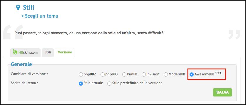 """Scopri """"AwesomeBB"""": la nuova versione dei forum Forumattivo Scherm12"""